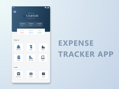 Expense Tracker App Design