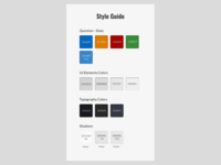 Style Guide for Online Test UI