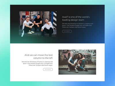Free About/Feature Block HTML5 Template