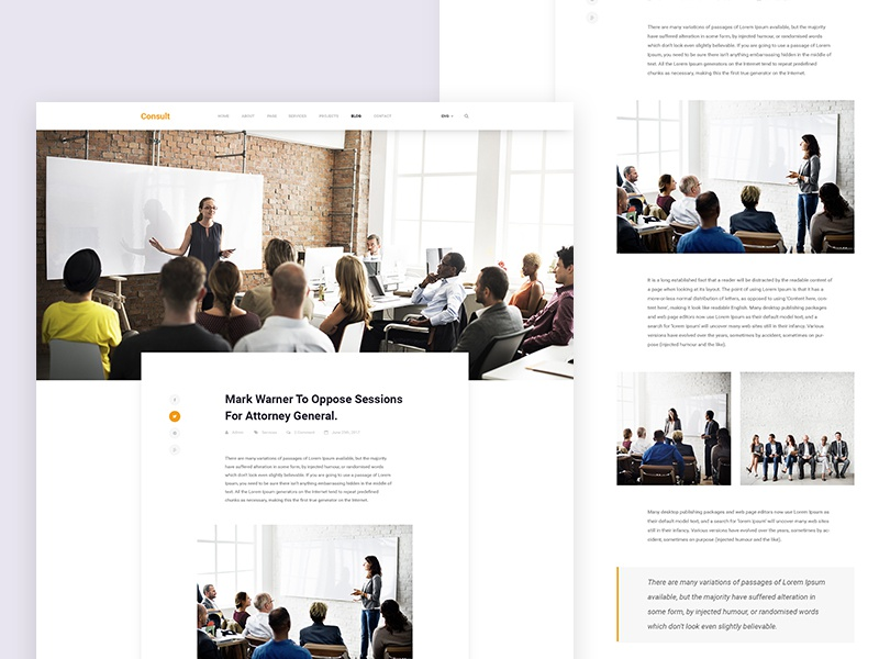 Consult - Free Business Bootstrap 4 Template bootstrap 4 html template free html