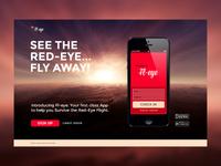 Fl-Eye App Landing page
