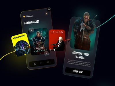 Game Store Mobile App graphic design 3d uiuxdesigner productdesign gamesmobileapp mobileapp videogames gamestore games branding uiux ui uiuxdesign typography illustration design
