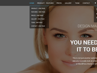 Lola One Page Template Rebound