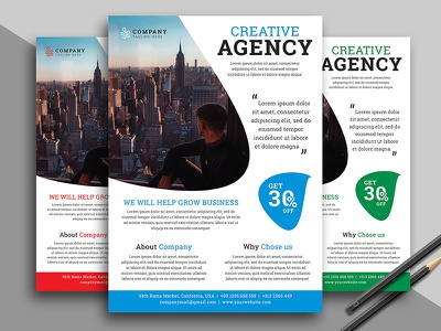 Corporate Flyer Template print multipurpose flyer multipurpose modern marketing flyer marketing graphic flyer editable digital creative flyer creative corporate flyer corporate consulting business flyer business blue ai agency