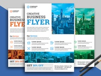 Corporate Flyer print multipurpose flyer multipurpose modern marketing flyer marketing graphic flyer editable digital creative flyer creative corporate flyer corporate consulting business flyer business blue ai agency