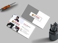 Fuel Station Business Card