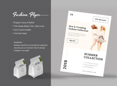 Free Fashion Flyer