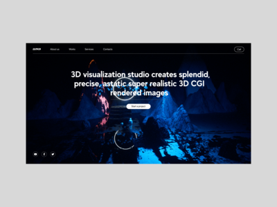 3D  visualization studio