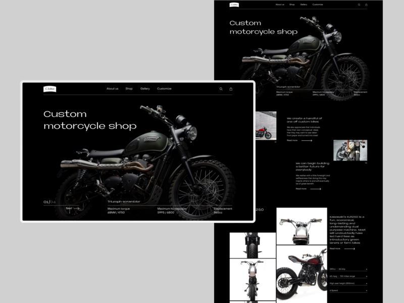 Custom Motorcycle Shop