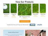 WIP | Artificial Grass Web site