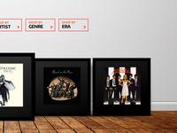 Album Art Selling Website
