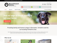 Mount Pleasant Kennels Home Page