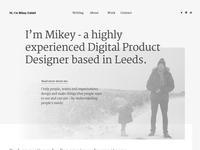 New Portfolio Site For 2018