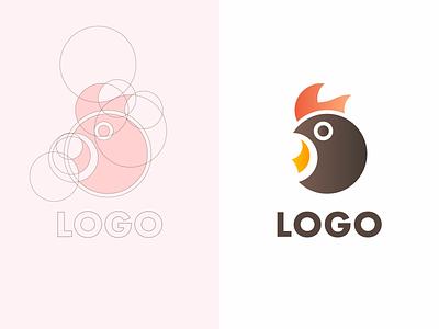 logo branding illustration animal chicken logo logo