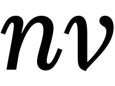 UTF italics redesign