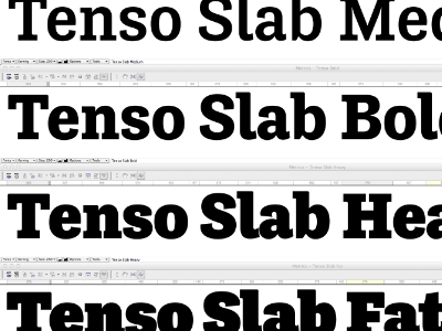 Tenso Slab 7 weight test