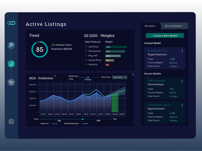 Lagoon, AI-based Investment Platform Dashboard Demo demo dark ui ai dashboard design dashboard ui dashboad fintech ux ui design