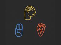 Head + Heart + Hand