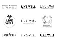 Live Well Logo WIP