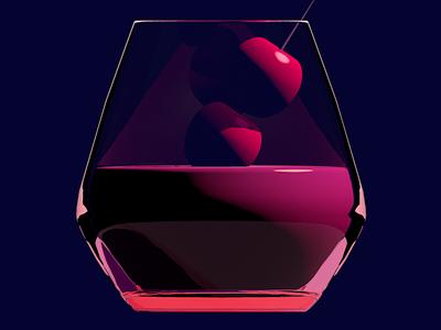 Cherry C4D illustration illustration cinema 4d