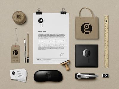 Genesis Brand Identity logo design icon