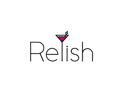 Relish Branding sketch advertising relish cocktail icon illustration love marketing design graphic design branding logo