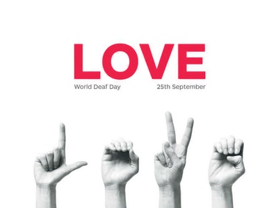 Spread Love minimal happy clean people illustration graphic design design superhero creative care sign language love