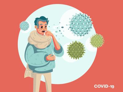 1 corona virus vector vectorart adobe illustrator illustration virus medicine quarantine isolation period get sick covid-19 coronavirus pandemic