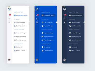 Menu navigation animation uiux dashboard uidesign web ux ui design app interface