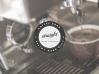 Straight Coffee Branding