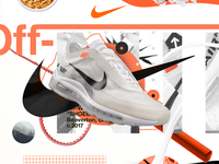 Off-White air max 97 Advertisement