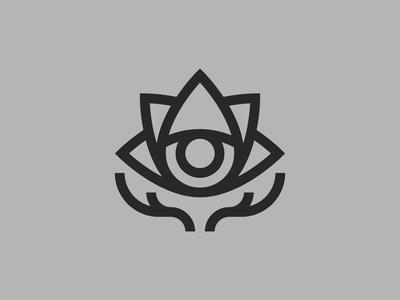 Logo Icon for an osteopath minimal modernism bauhaus thicklines staybold monoline linedesign minimalism logodesign design icon logo
