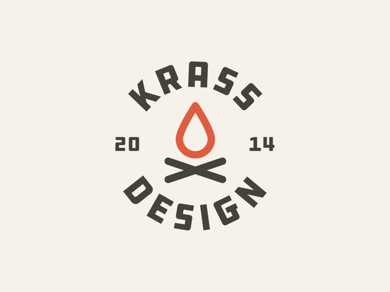 Logo for KRASS Design mark illustration logo corporate design branding logodesign
