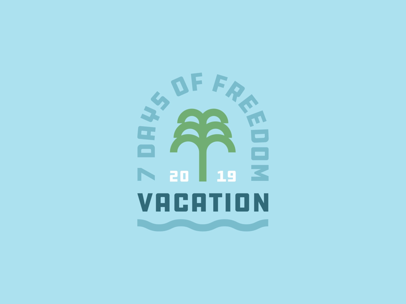 Vacation! logo emblem badge staybold graphicdesign design vintage retro outdoorbadge