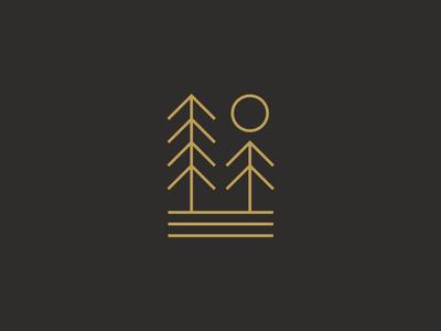 1 / 4 New Nature Scenes outdoordesign badge outdoor logodesign branding minimalism linedesign linework graphicdesign logo