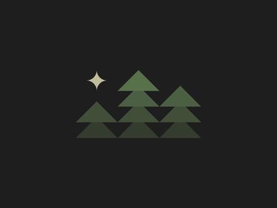 Guiding star form minimalism bold staybold bauhaus minimal graphic