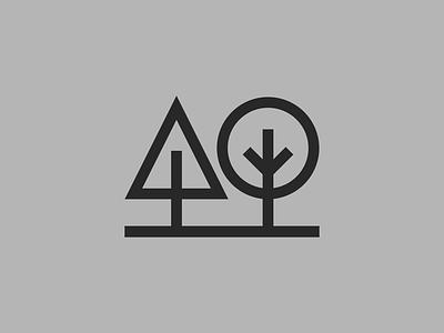 🌲 🌳 bauhaus staybold bold thicklines simplicity lines linedesign monoline minimalism