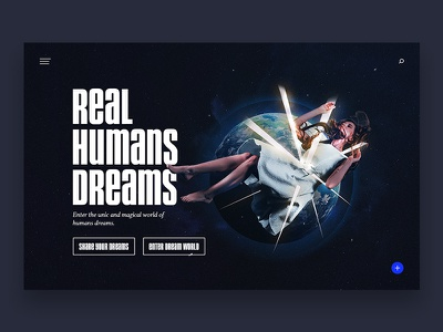REAL HUMANS DREAMS dreams webdesign ux ui