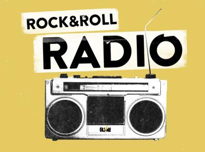 Rock & Roll Radio the ramones design merchandise rock music belfast northern ireland