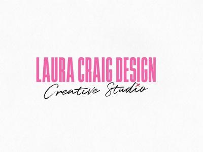 Laura Craig Design graphic designer freelance logo design logo branding