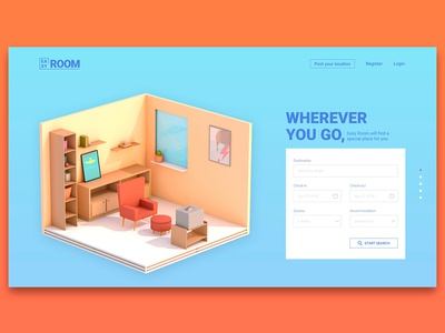Reservation Page UI