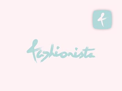 Fashionista thirtylogos thirty logos logo illustrator identity branding app fashionista