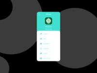 Settings Whatsapp App REDESIGN light mode