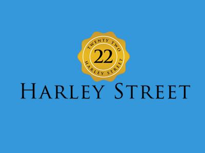 22 Harley Street Logo adobe vector brand medical logo stamp badge crest