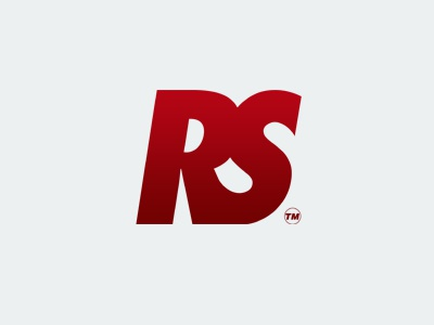 Rhymeshow Logo (small) social media online music gradient red branding typography vector logo
