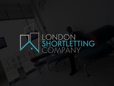 London Shortletting Company Logo real estate logo logo company illustration property building letting real estate london
