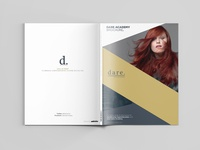 Dare Salon & Academy Brochure 2016