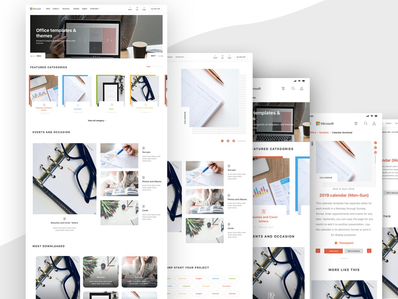 Landing Page graphic grid layout minimal modern layouts design landing page landingpagedesign ux ui webdesign web