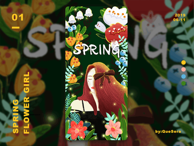Spring—Girl