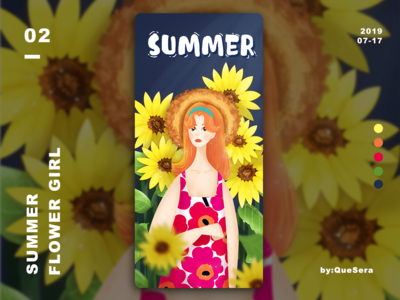 SUMMER-Flower Girl